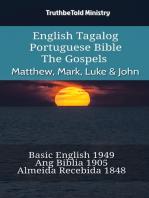 English Tagalog Portuguese Bible - The Gospels - Matthew, Mark, Luke & John