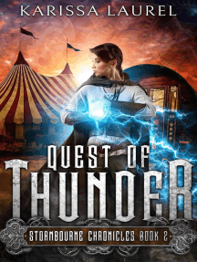 Quest of Thunder: Stormbourne Chronicles, #2