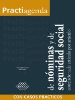 Practiagenda de nóminas y de seguridad social correlacionada artículo por artículo con casos prácticos 2018