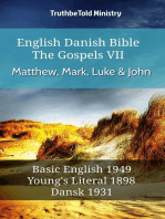 English Danish Bible - The Gospels VII - Matthew, Mark, Luke & John