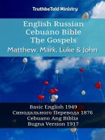 English Russian Cebuano Bible - The Gospels - Matthew, Mark, Luke & John