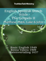 English Spanish Dutch Bible - The Gospels - Matthew, Mark, Luke & John