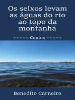 Os seixos levam as águas do rio ao topo da montanha