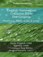 English Norwegian Cebuano Bible - The Gospels - Matthew, Mark, Luke & John