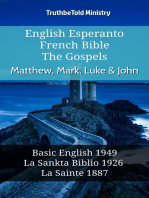 English Esperanto French Bible - The Gospels - Matthew, Mark, Luke & John