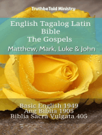 English Tagalog Latin Bible - The Gospels - Matthew, Mark, Luke & John
