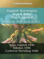 English Norwegian Dutch Bible - The Gospels II - Matthew, Mark, Luke & John