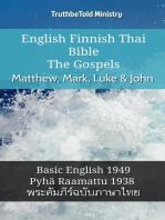 English Finnish Thai Bible - The Gospels - Matthew, Mark, Luke & John