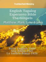 English Tagalog Esperanto Bible - The Gospels - Matthew, Mark, Luke & John