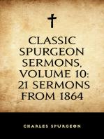 Classic Spurgeon Sermons, Volume 10