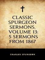 Classic Spurgeon Sermons, Volume 13