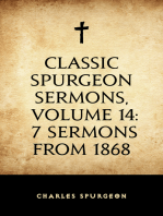 Classic Spurgeon Sermons, Volume 14