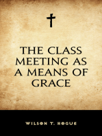 The Class Meeting as a Means of Grace