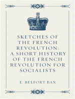 Sketches of the French Revolution