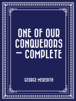 One of Our Conquerors — Complete