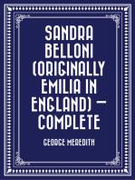 Sandra Belloni (originally Emilia in England) — Complete