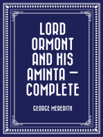 Lord Ormont and His Aminta — Complete