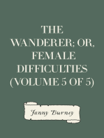 The Wanderer; or, Female Difficulties (Volume 5 of 5)
