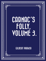 Carnac's Folly, Volume 3.