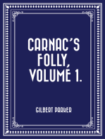 Carnac's Folly, Volume 1.