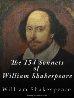 The 154 Sonnets of William Shakespeare