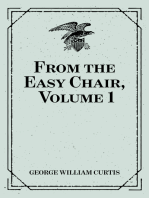 From the Easy Chair, Volume 1