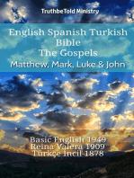 English Spanish Turkish Bible - The Gospels - Matthew, Mark, Luke & John
