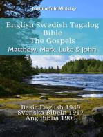 English Swedish Tagalog Bible - The Gospels - Matthew, Mark, Luke & John
