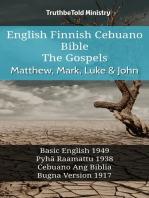 English Finnish Cebuano Bible - The Gospels - Matthew, Mark, Luke & John