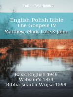 English Polish Bible - The Gospels IV - Matthew, Mark, Luke and John
