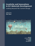 Creativity and Innovations in ELT Materials Development