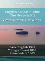 English Spanish Bible - The Gospels VII - Matthew, Mark, Luke & John