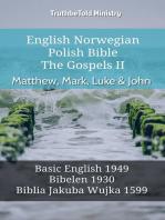 English Norwegian Polish Bible - The Gospels II - Matthew, Mark, Luke & John