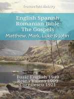 English Spanish Romanian Bible - The Gospels - Matthew, Mark, Luke & John