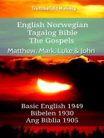 English Norwegian Tagalog Bible - The Gospels - Matthew, Mark, Luke & John