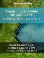 English Italian Bible - The Gospels VII - Matthew, Mark, Luke & John