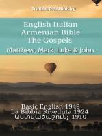 English Italian Armenian Bible - The Gospels - Matthew, Mark, Luke & John