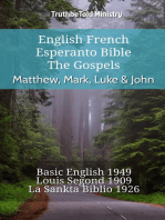 English French Esperanto Bible - The Gospels - Matthew, Mark, Luke & John