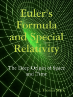 Euler's Formula and Special Relativity
