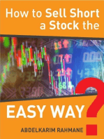How to Sell Short a Stock the Easy Way?