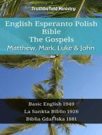 English Esperanto Polish Bible - The Gospels - Matthew, Mark, Luke & John
