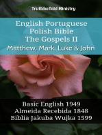 English Portuguese Polish Bible - The Gospels II - Matthew, Mark, Luke & John