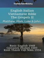 English Italian Vietnamese Bible - The Gospels II - Matthew, Mark, Luke & John