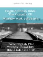 English Polish Bible - The Gospels VII - Matthew, Mark, Luke & John