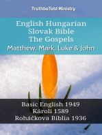 English Hungarian Slovak Bible - The Gospels - Matthew, Mark, Luke & John