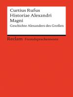 Historiae Alexandri Magni