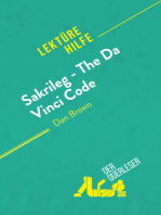 Sakrileg – The Da Vinci Code von Dan Brown (Lektürehilfe)