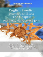 English Swedish Romanian Bible - The Gospels - Matthew, Mark, Luke & John