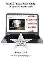 WordPress 4 Business Website Redesign