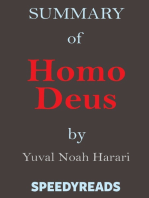 Summary of Homo Deus by Yuval Noah Harari